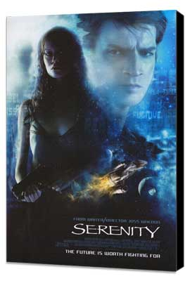 Serenity - 11 x 17 Movie Poster - Style C - Museum Wrapped Canvas