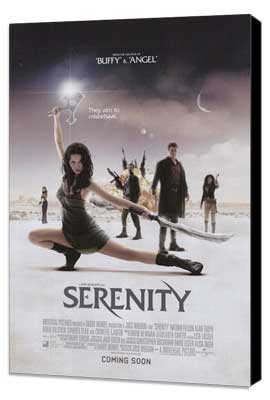 Serenity - 11 x 17 Movie Poster - Style I - Museum Wrapped Canvas