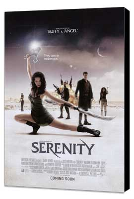 Serenity - 27 x 40 Movie Poster - Style C - Museum Wrapped Canvas