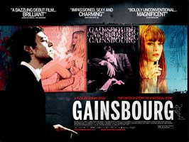 Serge Gainsbourg, vie heroique - 30 x 40 Movie Poster UK - Style B