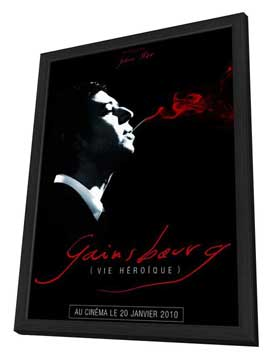 Serge Gainsbourg, vie heroique - 11 x 17 Movie Poster - French Style A - in Deluxe Wood Frame