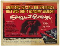 Sergeant Rutledge - 11 x 14 Movie Poster - Style A