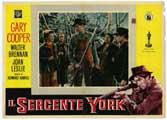 Sergeant York - 11 x 14 Poster Italian Style B