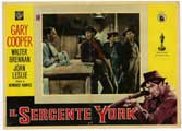 Sergeant York - 11 x 14 Poster Italian Style E