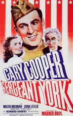 Sergeant York - 11 x 17 Movie Poster - Style A