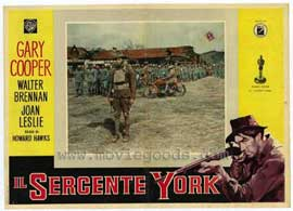 Sergeant York - 11 x 14 Poster Italian Style A