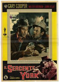 Sergeant York - 11 x 14 Poster Italian Style D