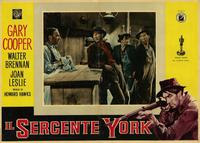 Sergeant York - 11 x 14 Poster Italian Style E