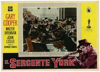 Sergeant York - 11 x 14 Poster Italian Style F