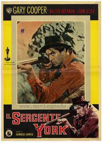 Sergeant York - 11 x 14 Poster Italian Style G