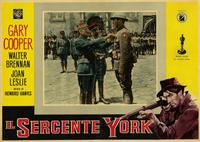 Sergeant York - 11 x 14 Poster Italian Style H