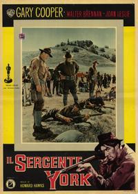 Sergeant York - 11 x 14 Poster Italian Style I
