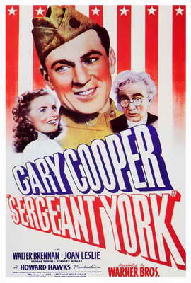 Sergeant York - 27 x 40 Movie Poster - Style A