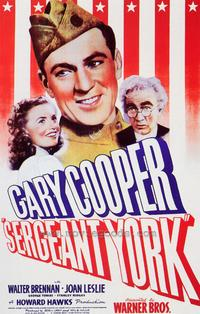 Sergeant York - 43 x 62 Movie Poster - Bus Shelter Style A