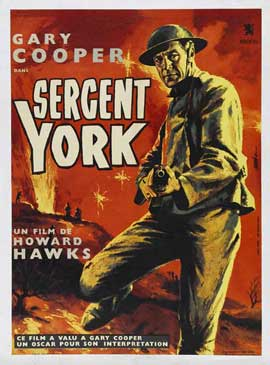 Sergeant York - 11 x 17 Movie Poster - French Style B