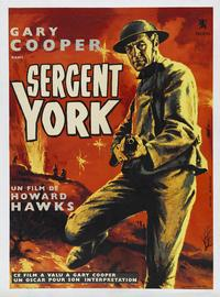 Sergeant York - 43 x 62 Movie Poster - French Style B