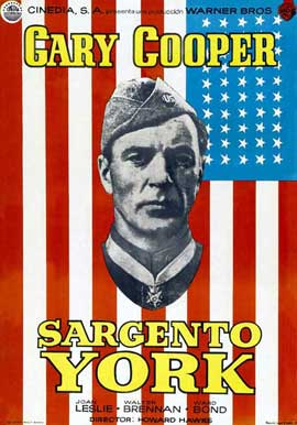Sergeant York - 27 x 40 Movie Poster - Spanish Style A