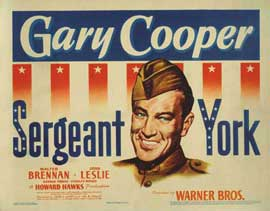 Sergeant York - 22 x 28 Movie Poster - Half Sheet Style A