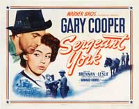 Sergeant York - 43 x 62 Movie Poster - Bus Shelter Style B