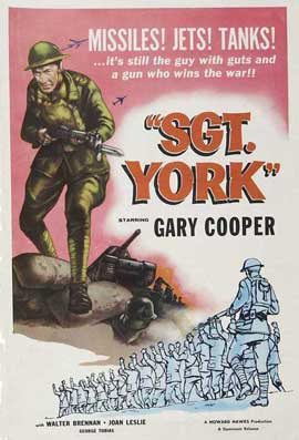 Sergeant York - 11 x 17 Movie Poster - Style C