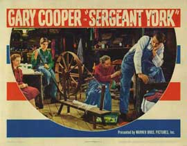 Sergeant York - 11 x 14 Movie Poster - Style D