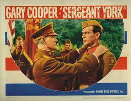 Sergeant York - 11 x 14 Movie Poster - Style E