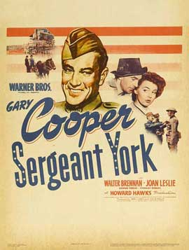Sergeant York - 11 x 17 Movie Poster - Style D
