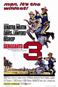 Sergeants 3 - 27 x 40 Movie Poster - Style A