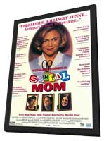 Serial Mom - 11 x 17 Movie Poster - Style A - in Deluxe Wood Frame