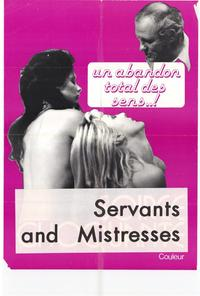 Servants and Mistresses - 27 x 40 Movie Poster - Style A