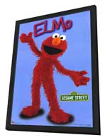 Sesame Street - 11 x 17 TV Poster - Style C - in Deluxe Wood Frame