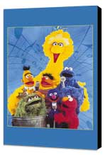 Sesame Street - 11 x 17 TV Poster - Style A - Museum Wrapped Canvas
