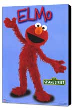 Sesame Street - 11 x 17 TV Poster - Style C - Museum Wrapped Canvas