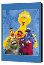 Sesame Street - 27 x 40 TV Poster - Style A - Museum Wrapped Canvas