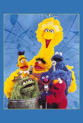 Sesame Street - 27 x 40 TV Poster - Style A