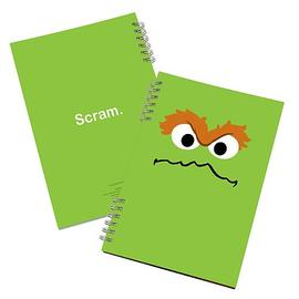 Sesame Street - Oscar the Grouch Lenticular Notebook