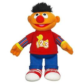 Sesame Street - Talking Rockin' Numbers Ernie Plush