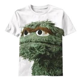 Sesame Street - Big Photo Oscar T-Shirt