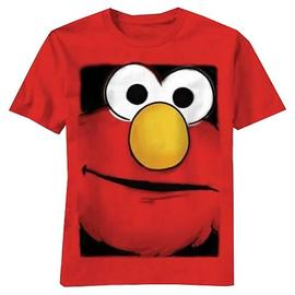 Sesame Street - Elmo Big Box Face T-Shirt