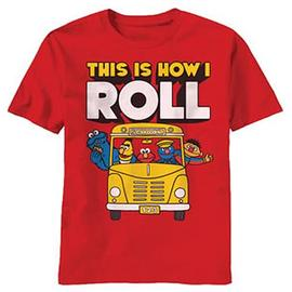 Sesame Street - How I Roll T-Shirt