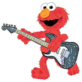 Sesame Street - Elmo Rock n' Roll Guitar Giant Wall Decal