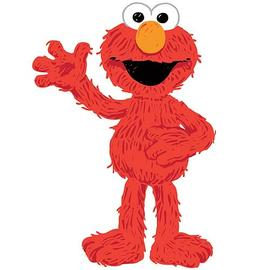 Sesame Street - Elmo Loves You Peel and Stick Giant Wall Decal