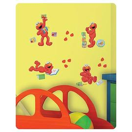 Sesame Street - Elmo-Centric Peel and Stick Wall Decals