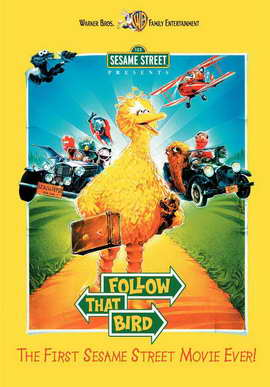 Sesame Street Presents: Follow that Bird - 11 x 17 Movie Poster - Style A