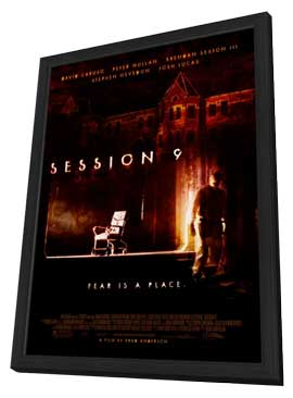 Session 9 - 27 x 40 Movie Poster - Style A - in Deluxe Wood Frame