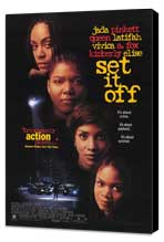 Set It Off - 11 x 17 Movie Poster - Style A - Museum Wrapped Canvas