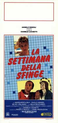 Settimana della sfinge, La - 13 x 28 Movie Poster - Italian Style A