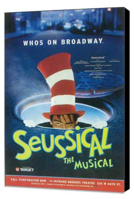 Seussical (Broadway) - 11 x 17 Poster - Style A - Museum Wrapped Canvas