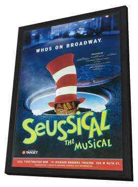 Seussical (Broadway) - 11 x 17 Poster - Style A - in Deluxe Wood Frame