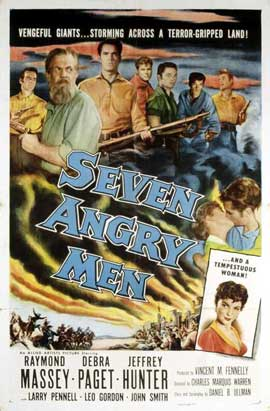 Seven Angry Men - 11 x 17 Movie Poster - Style A